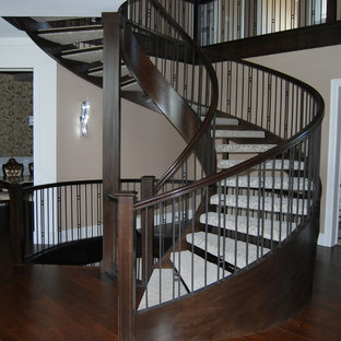 Interior Stairs and Handrails