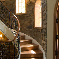 Mediterranean Staircase by Pinnacle Stone Products, LLC