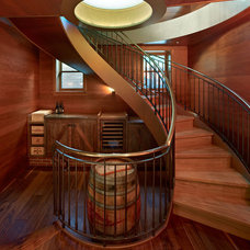 Eclectic Staircase by Cody Anderson Wasney Architects, Inc.
