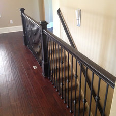 Traditional Staircase by DB Klain Construction, LLC