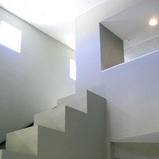 Modern Staircase by Moss Yaw Design studio