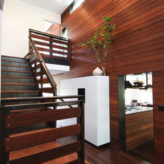 modern staircase by Urban Jobe Architecture