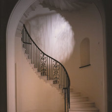 Traditional Staircase by Quinlan & Francis Terry Architects