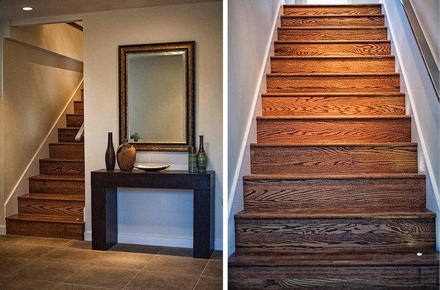 Contemporary Staircase by IQ Interior Design