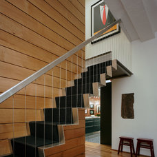 Industrial Staircase by Ira Frazin Architect