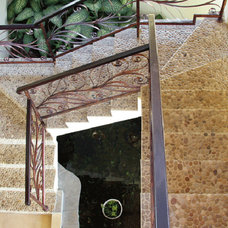 Modern Staircase by Island Stone