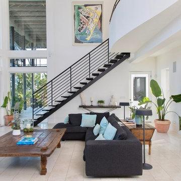 Isle of Palms Residence - Living Room