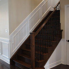 Traditional Staircase by CanTrust Contracting Group