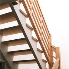 Modern Staircase by James Hill Architect
