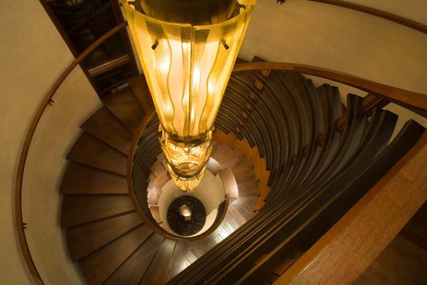 Contemporary Staircase by jamesthomas, LLC