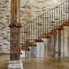 Contemporary Staircase JAUREGUI Architecture