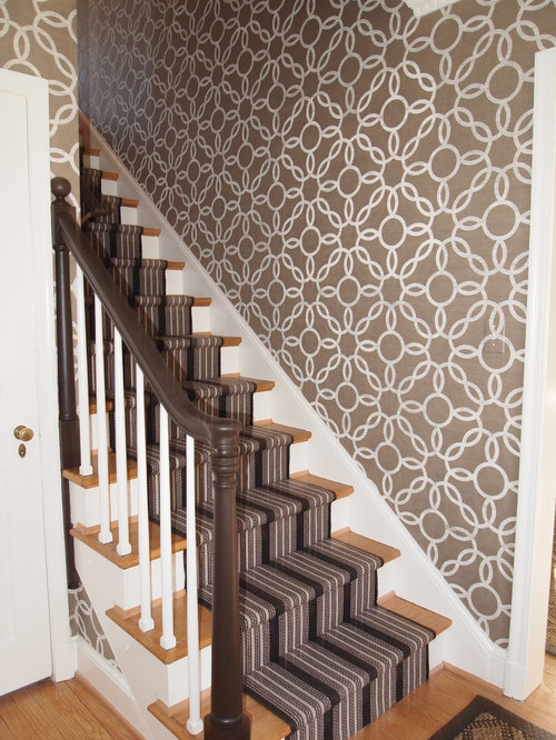Stair Wallpaper Houzz