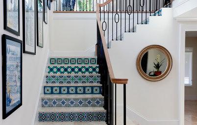 8 dekorativa trappor som blir vackra blickfång i hemmet