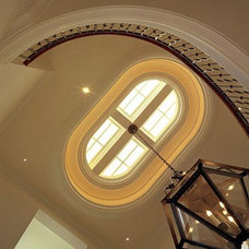 Traditional Staircase by JMA (Jim Murphy and Associates)