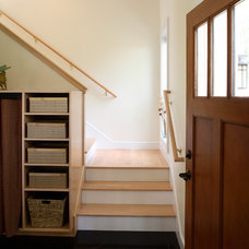Traditional Staircase by Taggart Construction