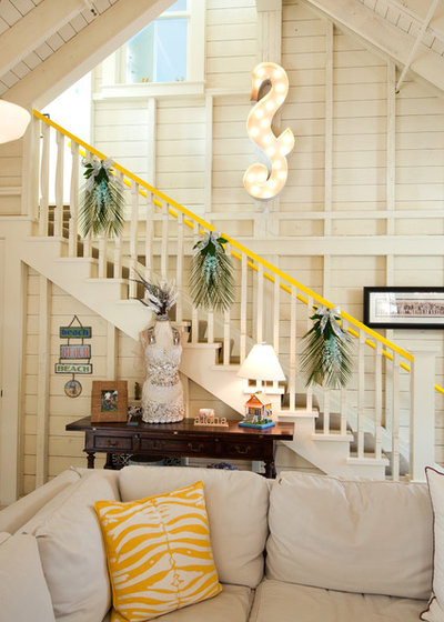 Eclectic Staircase by Janet Paik