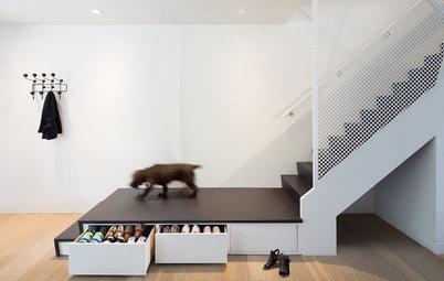 Un escalier, plusieurs fonctions