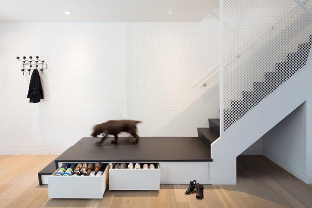 Contemporain Escalier by post Architecture
