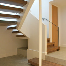 Modern Staircase by Jeff Luth - Soldano Luth Architects