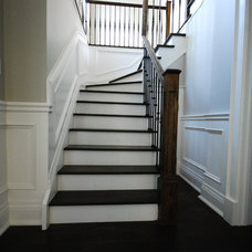 Modern Staircase by Deluxe Stair & Railing Ltd