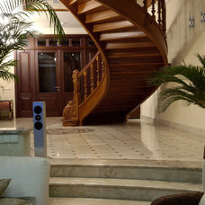 Traditional Staircase by Zimina Inna