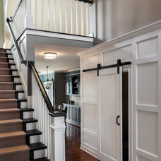 Transitional Staircase by Marcel Page Photography