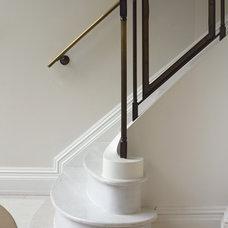 Eclectic Staircase by Kathryn Scott Design Studio Ltd