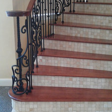 Mediterranean Staircase by Stairway Makeovers