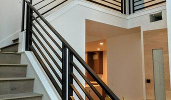 KB Builders - Horizontal Railing- Exterior metal