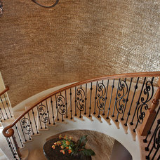 Contemporary Staircase by KDS Interiors, Inc.