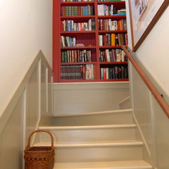 traditional staircase by Cole Design Studio, LLC