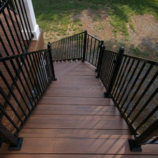 Contemporary Staircase by Environmental Landscape Associates