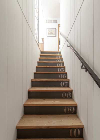 Farmhouse Staircase by Lucy and Company