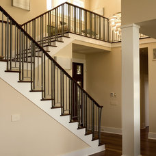 Contemporary Staircase by Frederick + Frederick Architects