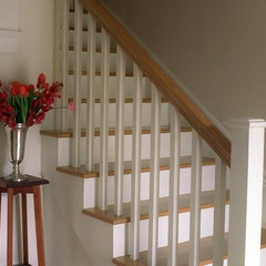 traditional staircase by Kelly Scanlon Interior Design