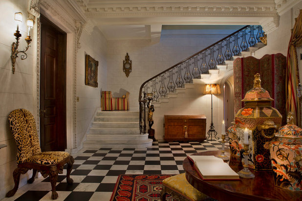 Ideal Traditional Staircase by The Phoenix Photography