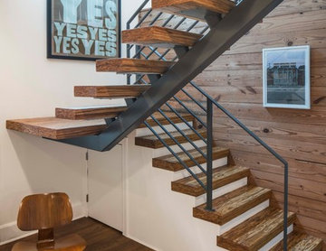 Kenwood Residence - open stairs