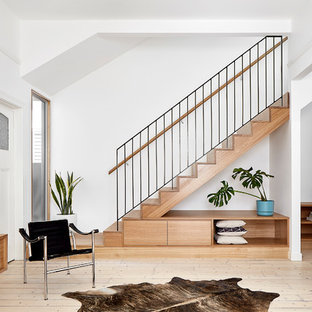 Inspiration for a scandinavian staircase in Melbourne.
