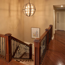 Traditional Staircase by Keystone Building and Design, LLC