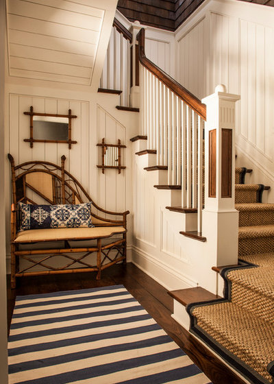 Tropical Staircase by Absolute Hardwood Flooring Inc