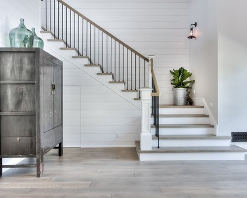 Best 25 Farmhouse Stairs Ideas On Pinterest: 25 Best Farmhouse Staircase Ideas & Decoration Pictures