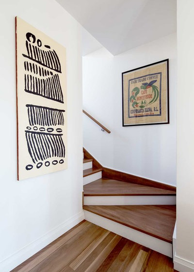 Contemporary Staircase by Kreis Grennan Architecture