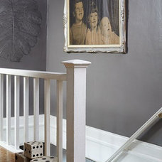 Farmhouse Staircase by GHStyleworks