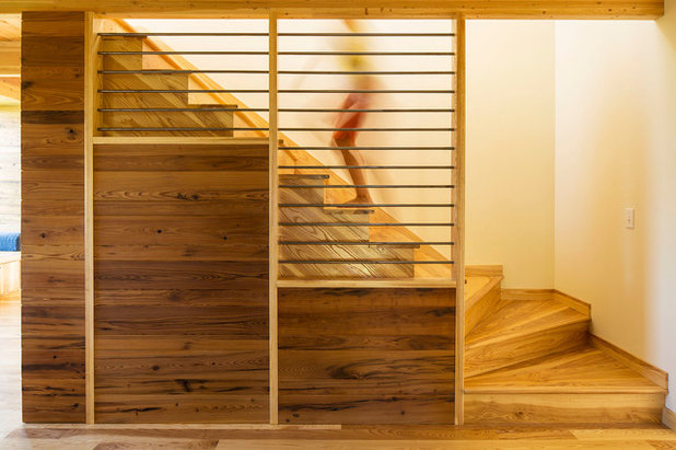 Contemporary Staircase by Kell Architects