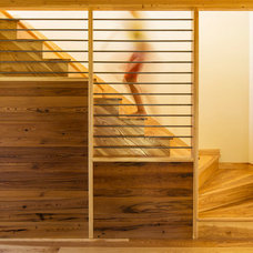 Modern Staircase by Kell Architects