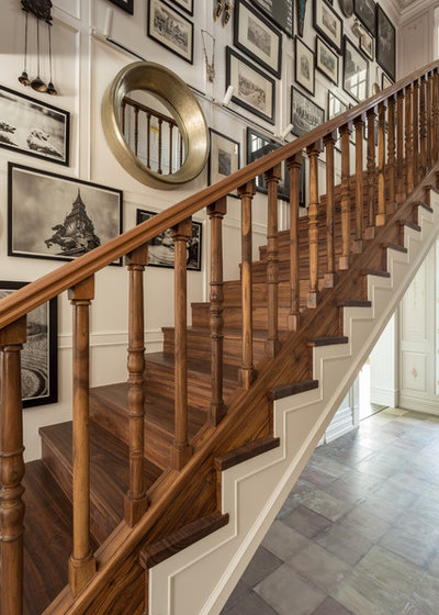 Eclectic Staircase by Shabnam Gupta