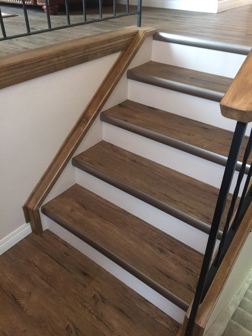 Best Vinyl Staircase Design Ideas amp Remodel Pictures Houzz