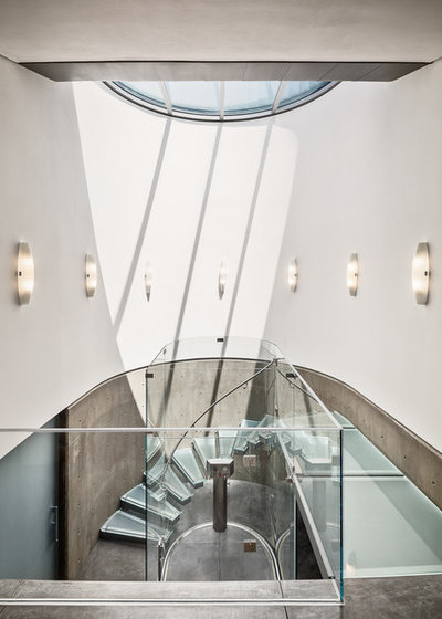 Modern Staircase by Neumann Mendro Andrulaitis Architects LLP