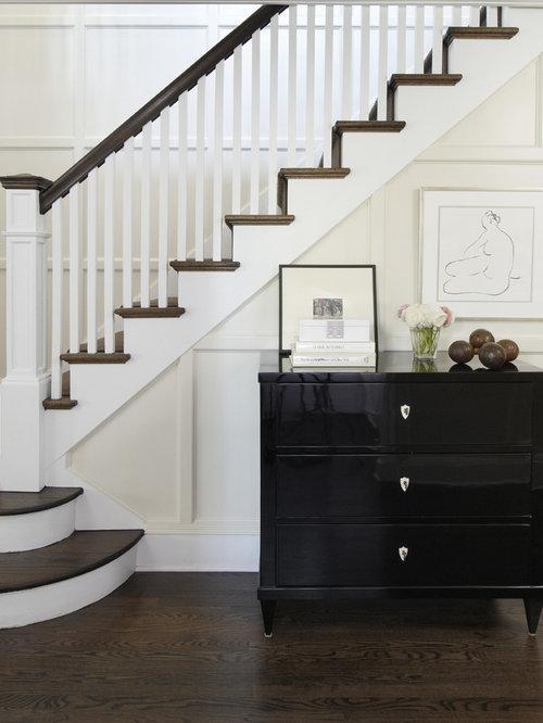 White Stair Railing Houzz