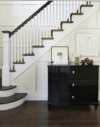Traditional Staircase by Kwinter & Co.